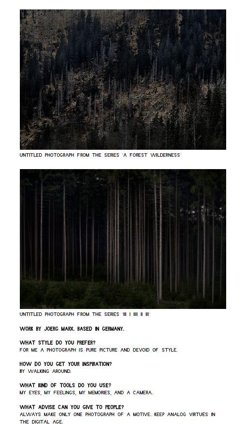 Get Inspired Magazine Jörg Marx Photography