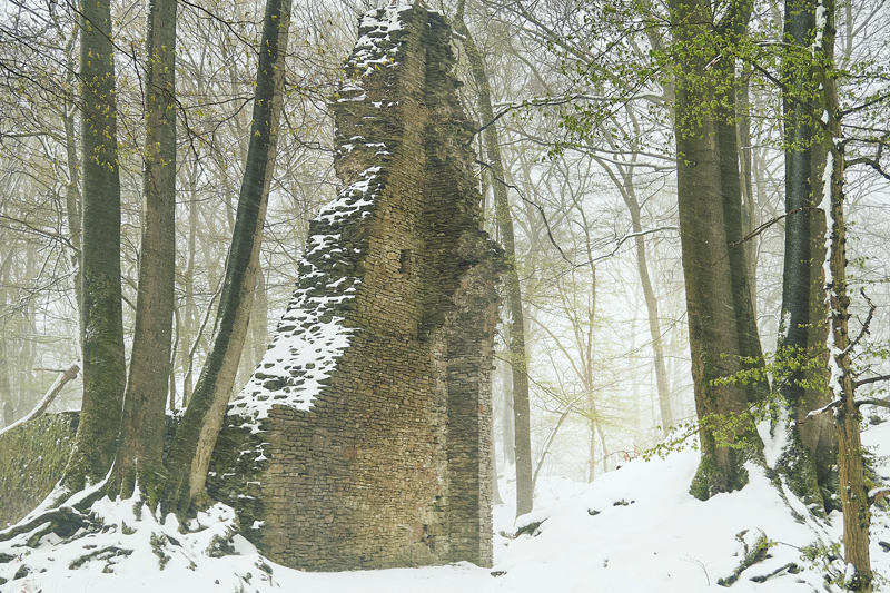 Jörg Marx Photo series : Sometimes It Snows In April, 2021, Winterscape