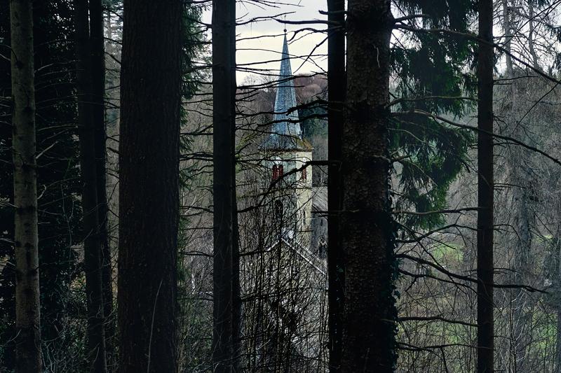 Jörg Marx Photo church trees